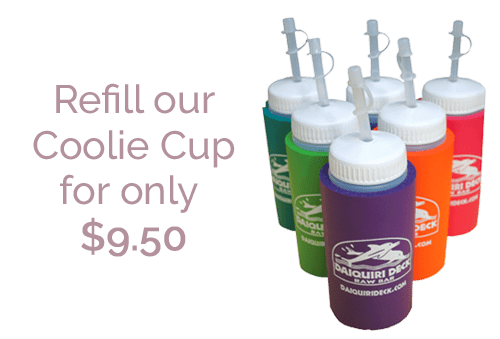 refill our coolie cup